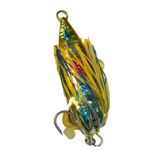 Glow'in Deep Squid Silver Holo Yellow 4 OZ