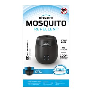 THERMACELL Rechargeable Moskito Repeller - Charcoal