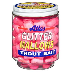 ATLAS MIKES Mike's Glitter Mallows Pink / Shrimp