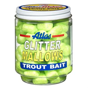 ATLAS MIKES Mike's Glitter Mallows Chartreuse / Garlic