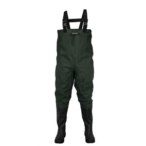 Oxbow - Poly Rubber Cleated Btft Chest WadersForest Green12